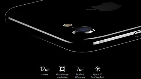 Máy ảnh iPhone 7 có độ phân giải 12 MP và chống rung quang học