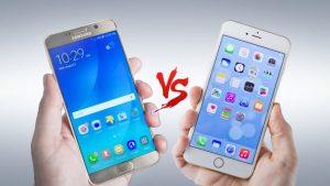 Những điểm nổi bật của iPhone 7 so với Samsung Galaxy Note 7