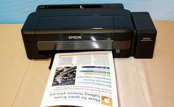 Đánh Giá Máy In Phun Màu Epson L310