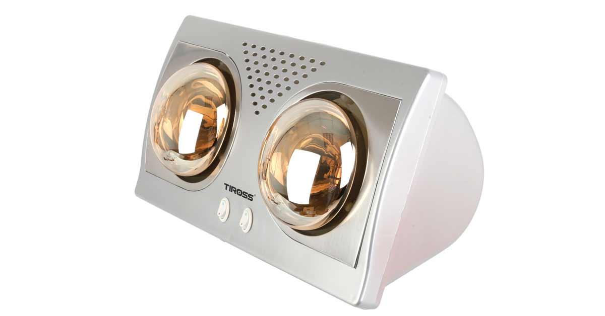 Đèn Sưởi Nhà Tắm 2 bóng Tiross TS9291