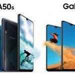 Galaxy A50s và A30s đều được trang bị cảm biến vân tay trong màn hình