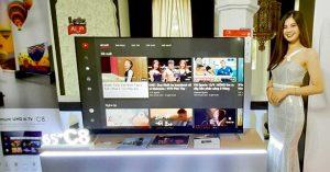 TCL ra mắt TV UHD AI C8 hình ảnh tuyệt đỉnh kết hợp với Ai