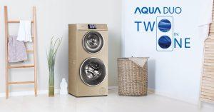 Aqua ra mắt máy giặt 2 lồng giặt với nhiều công nghệ tiên tiến
