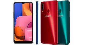 Samsung Galaxy A20s ấn tượng với 3 camera, màn hình lớn và sạc nhanh siêu tốc