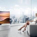 Nên mua tivi màn hình cong hay tivi màn hình phẳng
