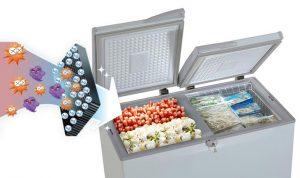 Tác dụng của công nghệ kháng khuẩn Nano Ag trên tủ đông