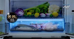 Panasonic tích hợp công nghệ diệt khuẩn mới vào tủ lạnh