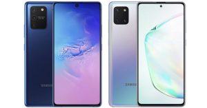 Samsung chính thức ra mắt Galaxy S10 Lite và Galaxy note 10 Lite