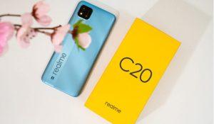 Realme C20 ra mắt với pin 5000mAh, camera sau vuông