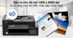 Máy in Brother DCP-T720DW sự lựa chọn tuyệt vời cho các doanh nghiệp