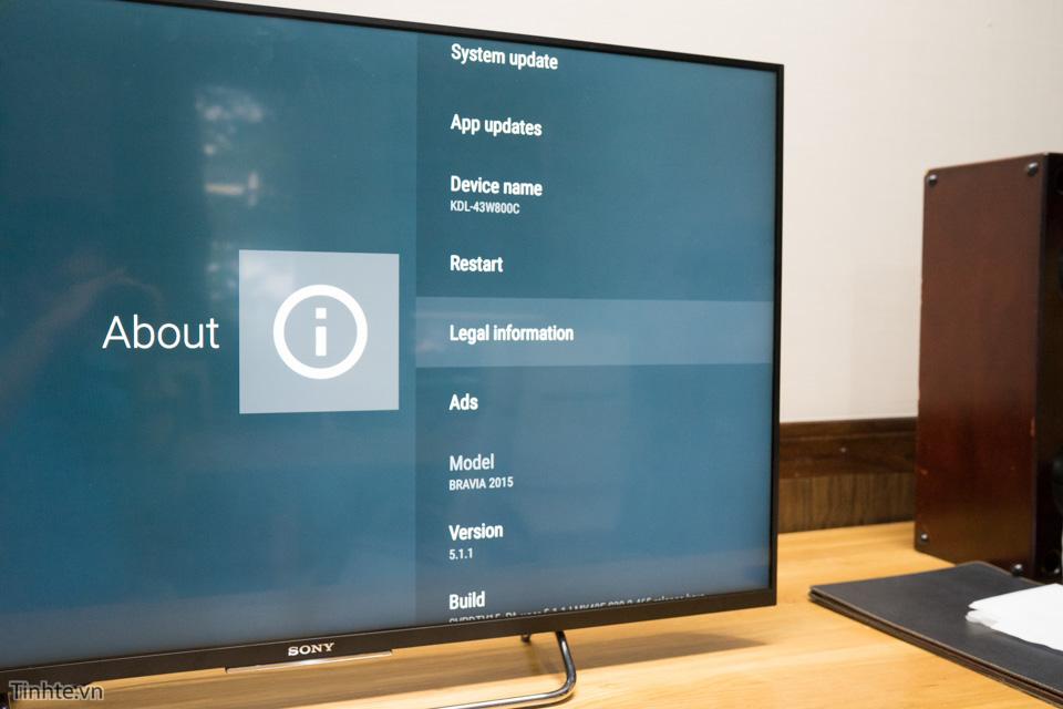 Đánh giá tính năng xem video trực tiếp của Tivi Sony KDLW800C