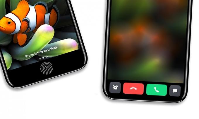 Giao diện iPhone 8 sẽ như nào nếu có màn hình vô cực