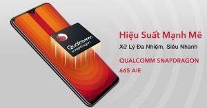 Vivo U10 sử dụng chip Snapdragon 665, kết hợp sạc kép nhanh 18 W