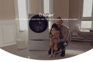 Tìm hiểu công nghệ LG Steam+™ trên máy giặt hơi nước của LG