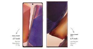 Galaxy Note20 series hiệu năng hàng đầu cho công việc và giải trí