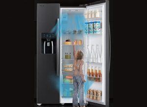 Bừng sáng căn bếp nhà bạn với tủ lạnh Toshiba SBS GR-RS637WE 493 lít