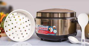Nồi cơm điện tử cao tần Sunhouse SHD8955 lựa chọn hoàn hảo cho cơm ngon tròn vị