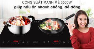 Bếp điện từ đôi Goldsun BB1202GT sự lựa chọn hoàn hảo cho không gian bếp gia đình bạn