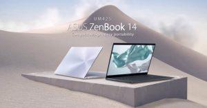 Asus giới thiệu ZenBook 14 UM425 với trang bị vi xử lí AMD Ryzen 5000 Series