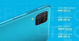 Samsung Galaxy F12 sở hữu màn hình 6.5 inch độ phân giải Full HD+ và tần số quét 90Hz