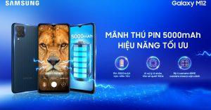Samsung Galaxy M12 sở hữu cấu hình mạnh mẽ với tần số quét 90Hz