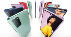 Samsung giới thiệu phiên bản Galaxy S20 FE mới, sử dụng vi xử lý Snapdragon 865