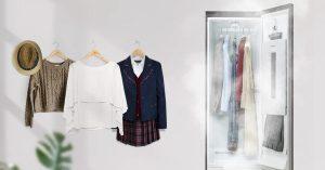 Cùng tìm hiểu tủ giặt hấp sấy thông minh LG Styler S5MB