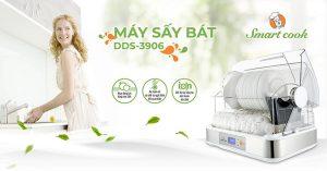 Máy sấy bát Smartcook DDS-3906 giải pháp tuyệt vời mang đến cho gia đình bạn sự an tâm tuyệt đối