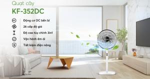 Sắm ngay quạt cây Karofi KF-352DC để xua tan cái nóng mùa hè