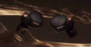 Sony ra mắt tai nghe WF-1000XM4 mới